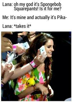 Lol she's so cute! Lana Del Rey #LDR