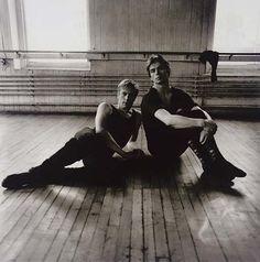 Erik Bruhn and Rudolf Nureyev, 1963- Diane Arbus