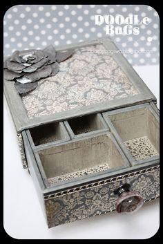 Tim Holtz configuration box...