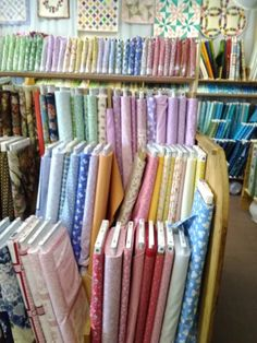 Sewing Fabric Types Inside this treasure trove of a warehouse, you'll find nearly every type of fabric imaginable. - This warehouse promises to make all your crafting dreams come true. Creeper Minecraft, Fabric Crafts, Sewing Crafts, Diy Crafts, Embroidery Designs, Virginia, Fabric Outlet, Buy Fabric Online, Sand Crafts