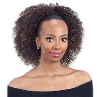 Bring About A New Style For Yourself When You Wear The Freetress Equal Drawstring Ponytail – Bohemian Fro. Take It Home Right Now From Divatress. Curled Ponytail, Weave Ponytail, Ponytail Styles, Ponytail Hairstyles, Weave Hairstyles, Curly Hair Styles, Natural Hair Styles, Ponytail Ideas, Protective Hairstyles