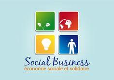 Créa logo Social Business