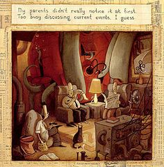 The Lost Thing: A Whimsical Story about Belonging by Shaun Tan | via Brain Pickings (mls)