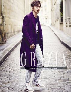 Actor Yoo Seung-ho in January 2015 issue of Grazia Magazine. He was discharged from military service (mandatory for Korean guys) last month. Photos taken in Paris. Yoo Seung Ho, Cha Seung Won, Choi Seung Hyun, So Ji Sub, Asian Actors, Korean Actors, Korean Idols, Korean Celebrities, Kang Haneul