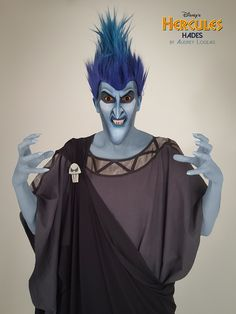 Disney Villains HADES make up MUA : Audrey Logeais