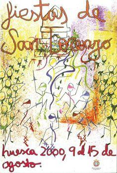 Fiestas de San Lorenzo, año 2000
