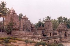 The Srimukhalingam temple complex in Srikakulam district, built in the Kalinga style of architecture.