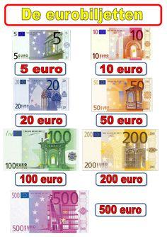 poster eurobiljetten