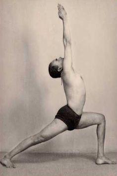 1950s: BKS Iyengar Yoga Guru ...... #bksiyengar #yoga #yogaguru #iyengaryoga #yogafounder #1950s