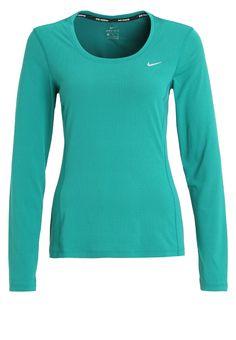 Nike Performance Langarmshirt - rio teal/reflective silver für 44,95 € (26.09.16) versandkostenfrei bei Zalando bestellen.