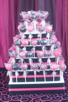 Birthday Cake pop stand