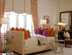 Twin size daybed dressed to kill.