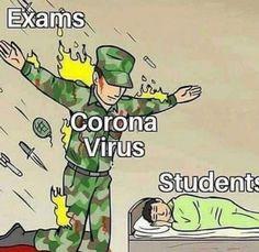 Corona virus jokes and memes - Corona memes - Best Funny Memes Latest Funny Jokes, Very Funny Memes, All Meme, Funny School Memes, Some Funny Jokes, Funny Relatable Memes, Funny Facts, Exams Funny, Memes Humor