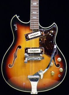 Details About Telestar Teisco Hollowbody 335 Style