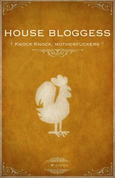 House Bloggess: You're soaking in it.