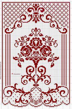 Cross Stitch Rose, Cross Stitch Flowers, Modern Cross Stitch, Cross Stitch Designs, Cross Stitch Patterns, Cross Stitching, Cross Stitch Embroidery, Embroidery Patterns, Crochet Patterns