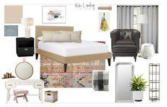 MASTER BEDROOM PROGRESS Niki Landry Art & Design