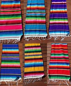 """Mexican Serape Table Runner 72"""" Lightweight Saltillo Sarape Camino de Mesa in Home & Garden, Kitchen, Dining & Bar, Linens & Textiles   eBay"""
