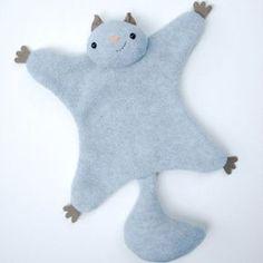 Faire un doudou écureuil tout doux pour son petit Make a soft squirrel for your little one