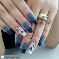 Nails gelish 40 trending early spring nails art designs and colors 2019 027 40 trending early spring nails art designs and colors 2019 027 Spring Nail Colors, Spring Nail Art, Nail Designs Spring, Spring Nails, Nail Art Designs, Hair And Nails, My Nails, Nailart, Nail Color Trends
