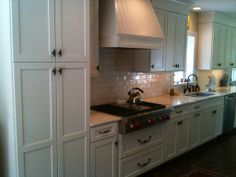 Gas Stove Top and Plenty of Storage and Counter Space- Lovette Construction www.lovetteconstruction.com