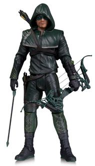 """Reenact the action-packed battles between Oliver Queen and Slade Wilson from Season Two with these intricately sculpted, highly poseable action figures. 6.75"""" Tall."""