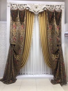 The 40 most important ideas for modern curtains – technical discoveries – FarmHouse 2020 Hall Curtains, Curtains And Draperies, Luxury Curtains, Elegant Curtains, Beautiful Curtains, Modern Curtains, Drapes Curtains, Victorian Window Treatments, Unique Window Treatments