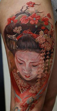 Awesome Japanese Tattoo
