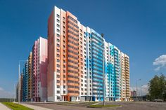 Moscow color residential court Massimo Iosa Ghini