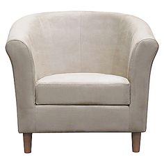 Buy John Lewis Value Juliet Chair, Stone online at JohnLewis.com - John Lewis
