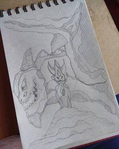 """Andrés F. Márquez G. (@ands_marz) en Instagram: """"SpeedSketches,   Nuevo mundo   #dracaenae dragón+criature #ands_marz#creatuanary2018"""""""