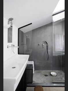 Laundry to bathroom conversion