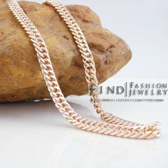 FBH33021 Jewelry wholesale Fashion Copper THE PASSAGE 7 gold Filled Russia CC color rose gold necklace Freeshipping 55CM //Price: $US $8.60 & FREE Shipping //     #hashtag1