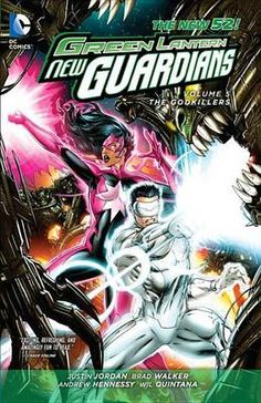 Green Lantern New Guardians Volume 5 Godkillers