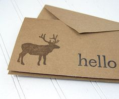 Rustic greeting cards