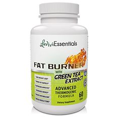 Fat Burner with Green Tea Extract Advanced Thermogenic Formula  Natural Supplement for Weight Loss Works Fast for Men and Women ** You can get more details by clicking on the image.