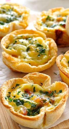 Quiche Toast Cups (Southern snacks, appetizers, little bites)