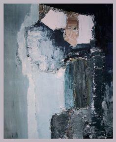 """nicolas de stael """"paysage méditerranée"""" 1953"""
