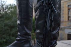 fringed boots  http://ishowedupinboots.com