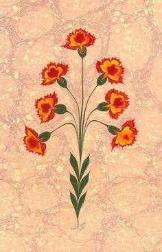 Textile Pattern Design, Textile Patterns, Mural Painting, Fabric Painting, Paintings, Ebru Art, Digital Ink, Flower Art, Art Flowers