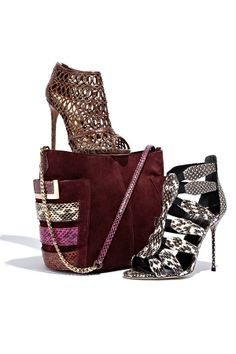 Preview our just-in Pre-Fall shoes and handbags!