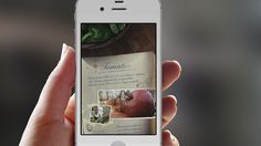 App-Design, food-abc screen for infos