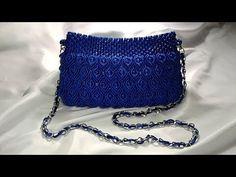 Macrame Pot for Make up Brush - Tempat Kuas Make up Macrame - YouTube