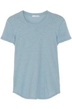 James Perse - Slub Cotton-jersey T-shirt - Light blue - 3