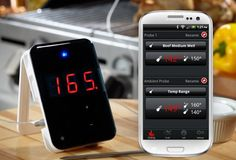 Thermometer met Bluetooth