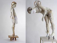 vally nomidou - paper sculpture