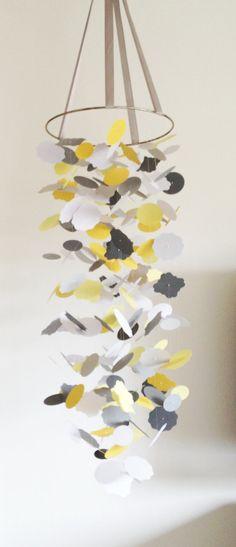 The Alexander Shapes Mobile DIY Kit /// Nursery Decor, Photo Prop, Baby Shower Gift, Mobile. on Etsy, $39.00