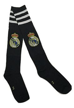 Real Madrid Youth/Kids Soccer Socks (Black), 2015 Amazon Top Rated Soccer #Sports
