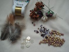 DIY your own funky button and bead bouquet | @offbeatbride