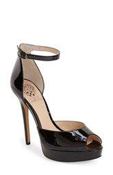 Vince Camuto 'Lillith' Ankle Strap Platform Pump (Women)